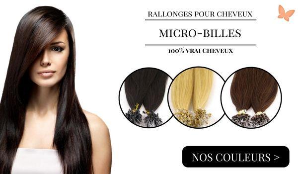 rallonges cheveux micro-billes