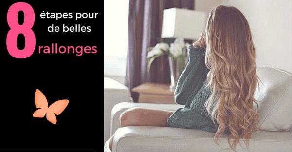 8 ÉTAPES FACILES POUR DES RALLONGES DE CHEVEUX MAGNIFIQUES