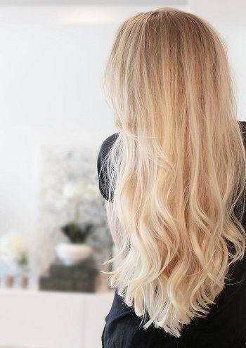 Entretien des rallonges de cheveux