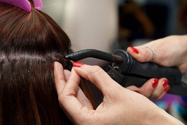 Extensions de cheveux fusion chaude