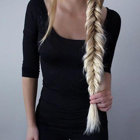 sport avec des rallonges pour cheveux