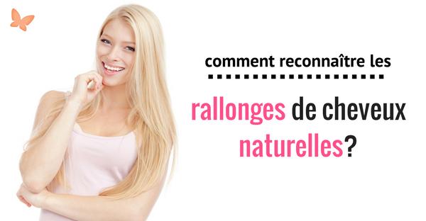 Rallonges de cheveux naturelles
