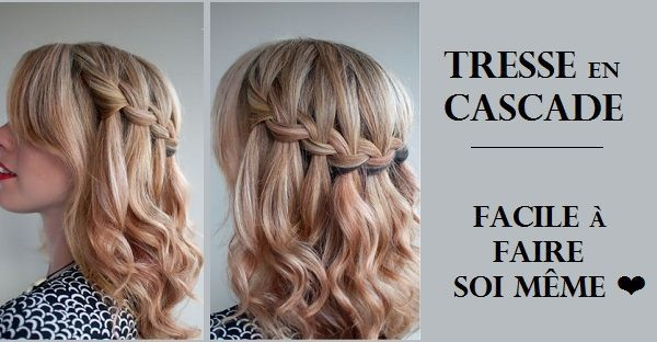 Tresse Facile A Faire Soi Meme Inspiration Du Blog