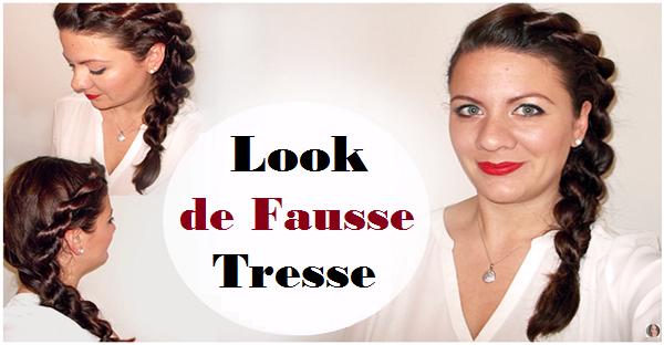 Coiffure no l f tes chignon tress facile blog sur la coiffure rallonges pour cheveux beaut - Comment faire une fausse blessure ...