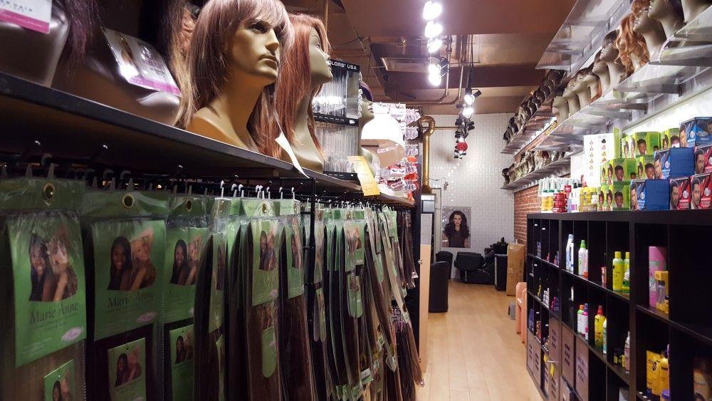 acheter des extensions à clip en magasin
