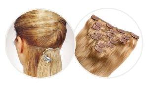 rallonges cheveux à clips