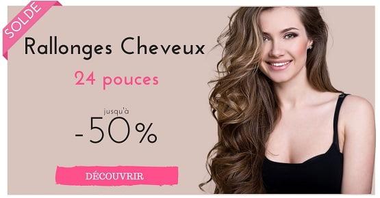 Extensions de cheveux 24 pouces en solde