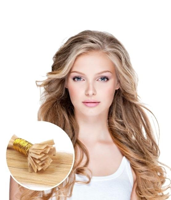 Rallonges pour cheveux kératines