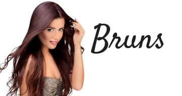 Rallonges de cheveux couleurs bruns
