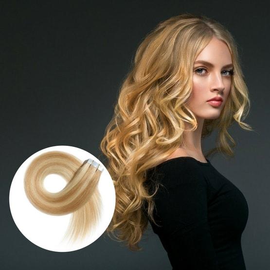 rallonges cheveux à bandes adhésives