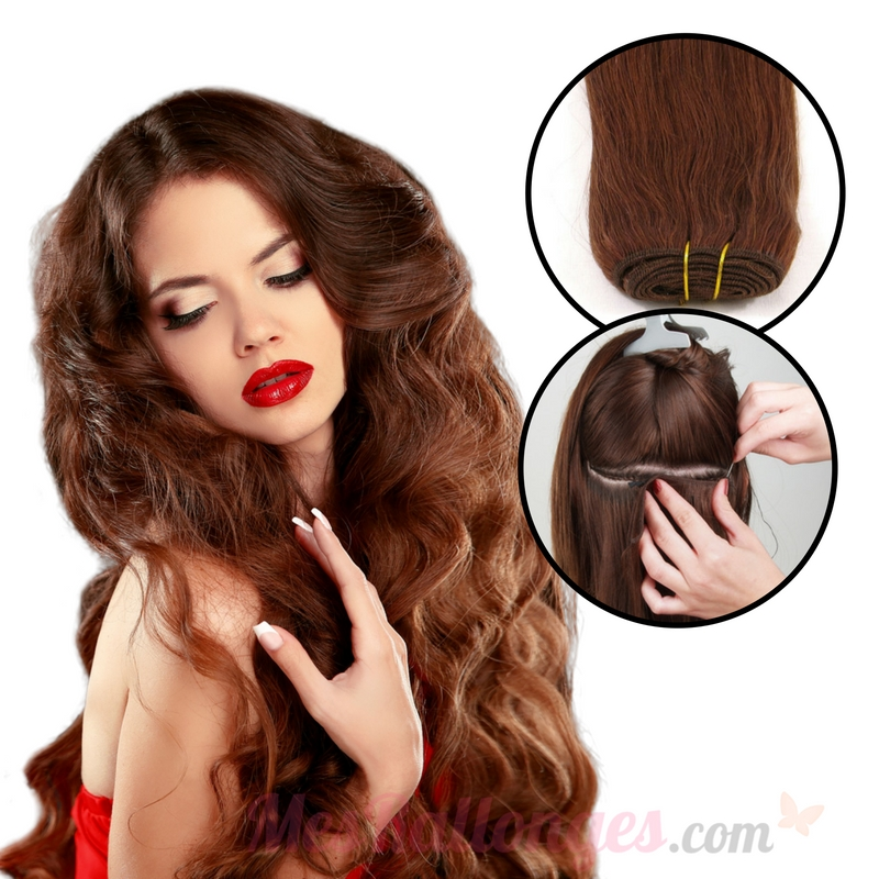 Weaves / wefts hair extensions