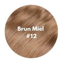 extensions cheveux brun miel
