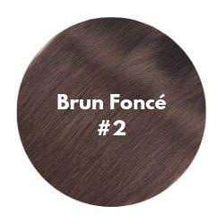extensions cheveux brun foncé