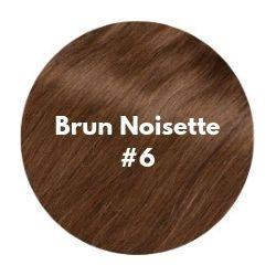 extensions cheveux brun noisette