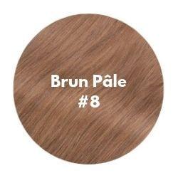 extensions cheveux brun pâle