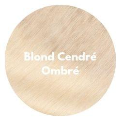 extensions cheveux ombré blond cendré