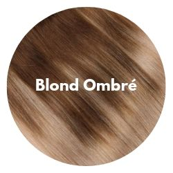 extensions cheveux blond ombré