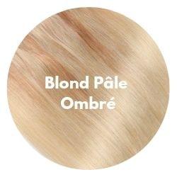 extensions cheveux ombré blond pâle