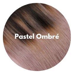 extensions cheveux ombré pastel